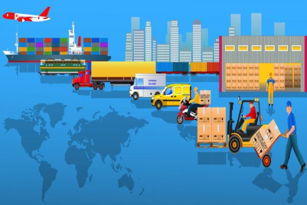 5 Key Logistics Trends illustration