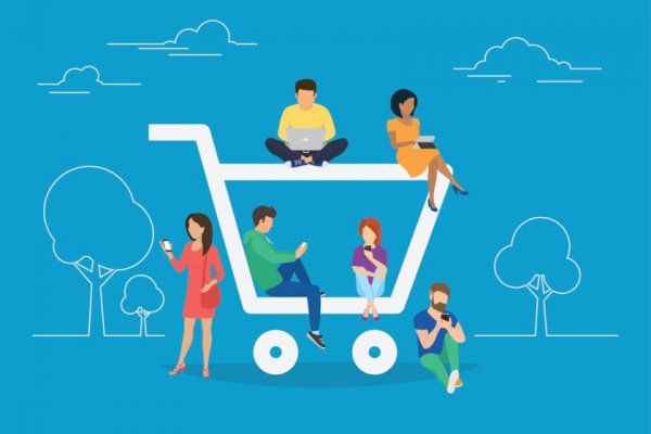 Create a Human E-commerce Experience illustration